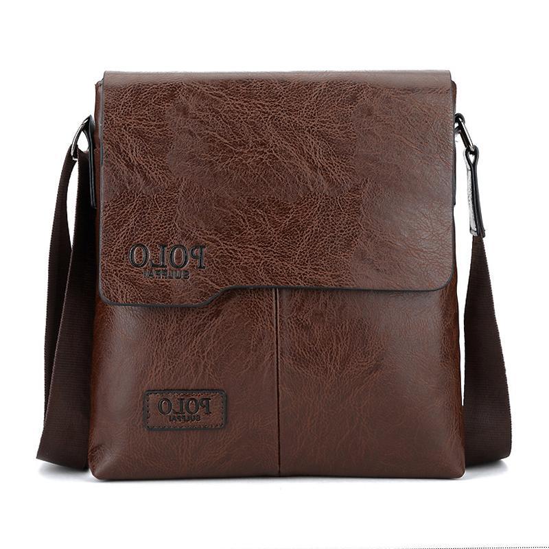 Men Messenger Shoulder Bag JEEP Travel Briefcase