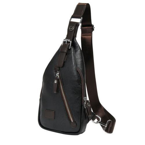 Men Chest Bag Crossbody Travel Backpack