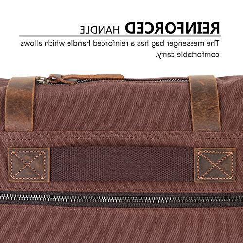 Lifewit Bag Canvas Leather