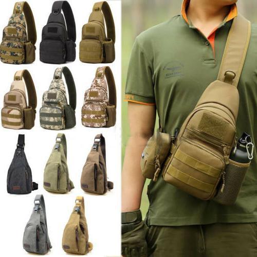 men military backpack tactical bike messenger shoulder