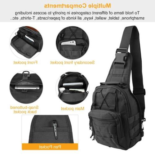 Men Military Camping Sling Chest