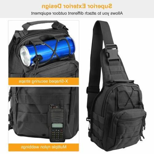 Camping Messenger Sling Chest Bag