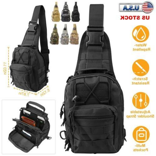 men military tactical backpack camping bike messenger