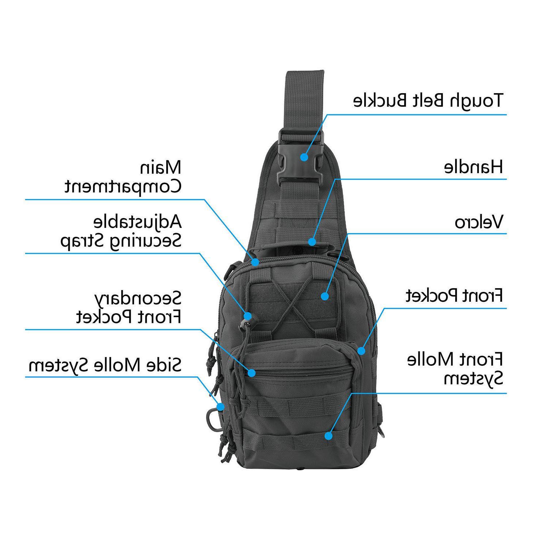 Men Chest Bag Messenger Shoulder