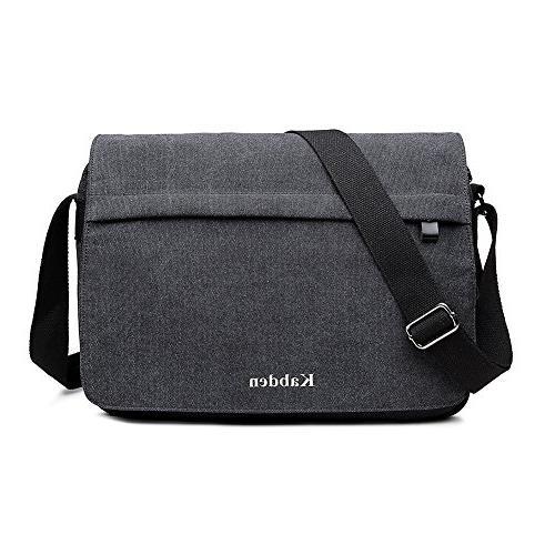 men multifunctional canvas messenger handbag