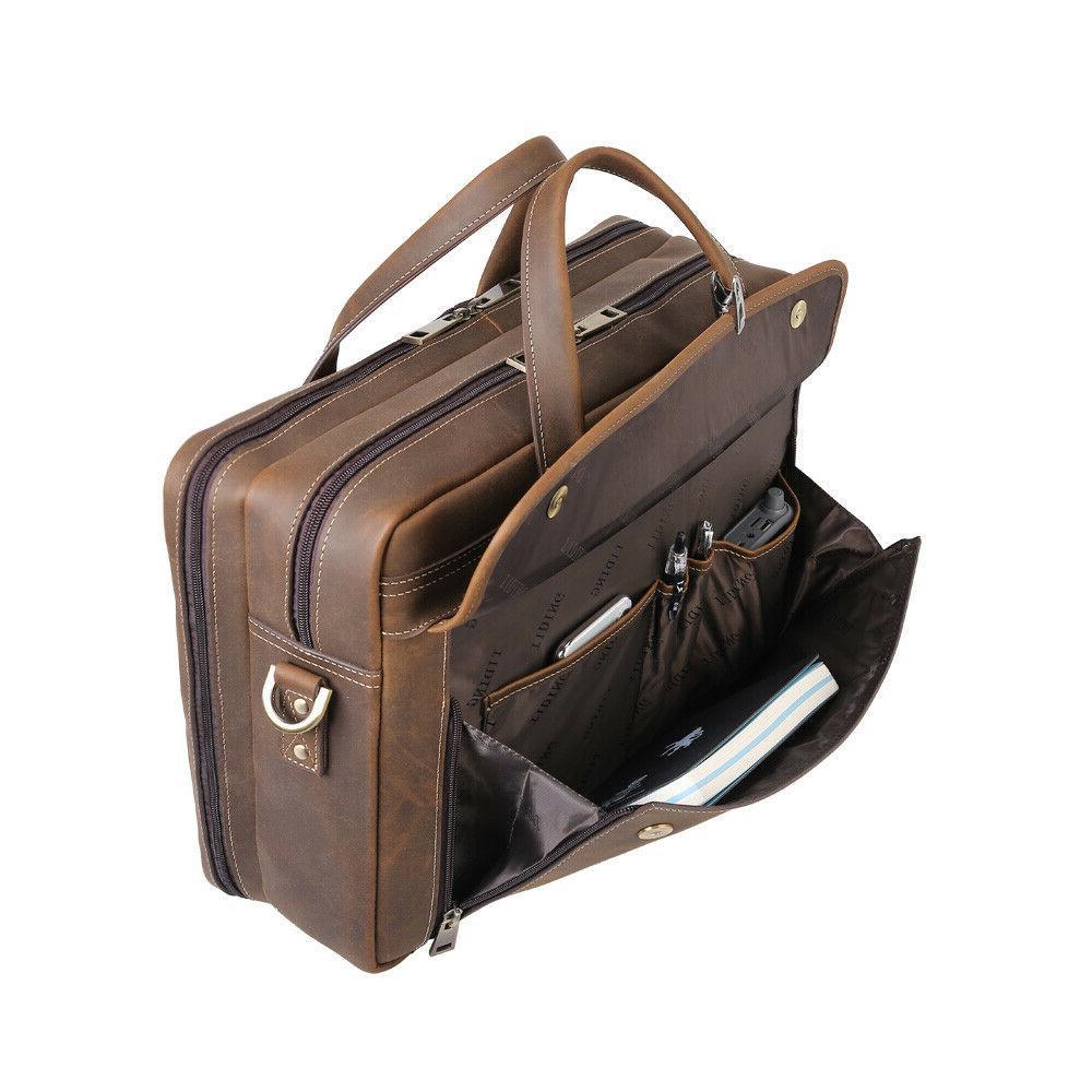 """15"""" Laptop Handbag Shoulder Messenger Bag"""