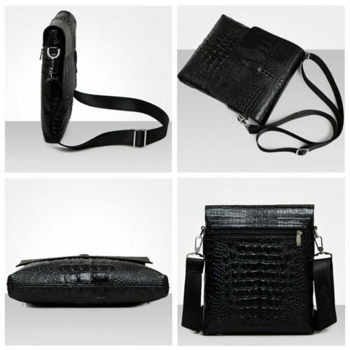 Men's Leather Shoulder Bag Messenger