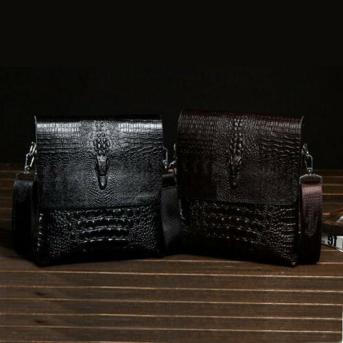 Men's Leather Shoulder Messenger