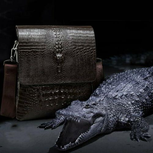 Men's Briefcase Leather Messenger Crossbody US