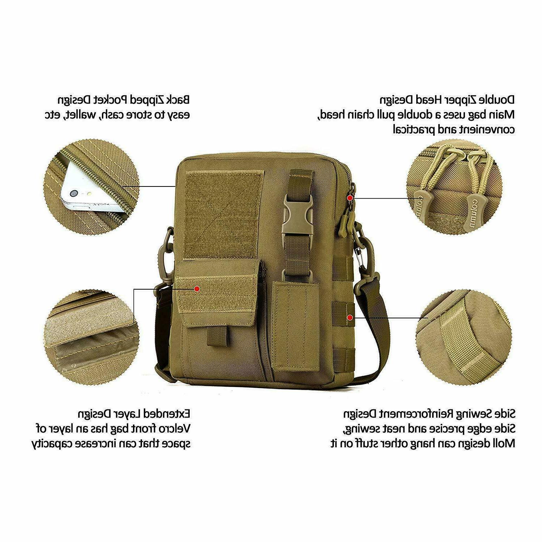 Men's Backpack Sling Pack Messenger Shoulder