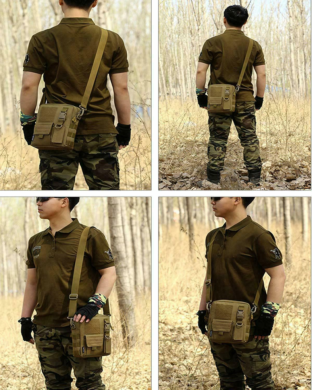 Men's Sling Chest Bag Pack Shoulder