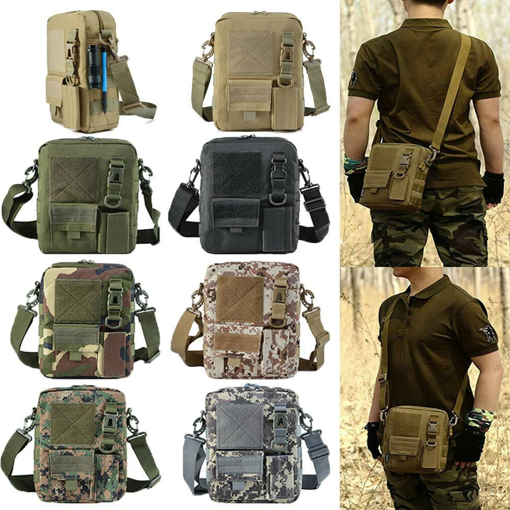 men s backpack molle tactical sling chest