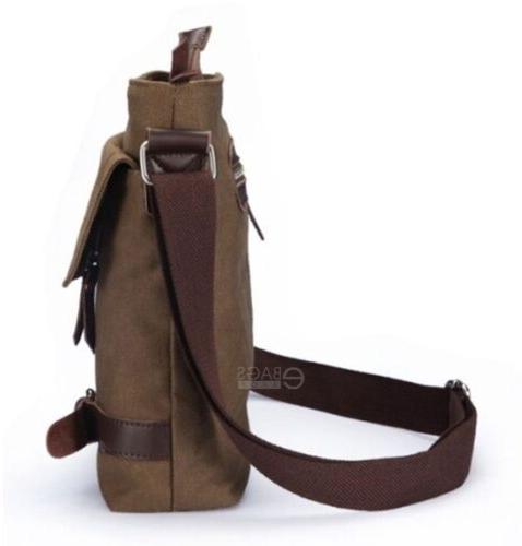 Men's Canvas Military Bag New