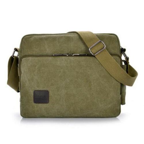 Men's Canvas Shoulder Bag Crossbody School