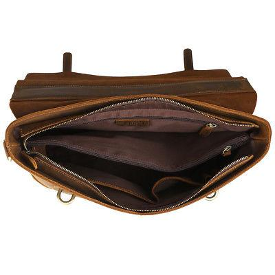 Kattee Men's Horse Leather Bag Business