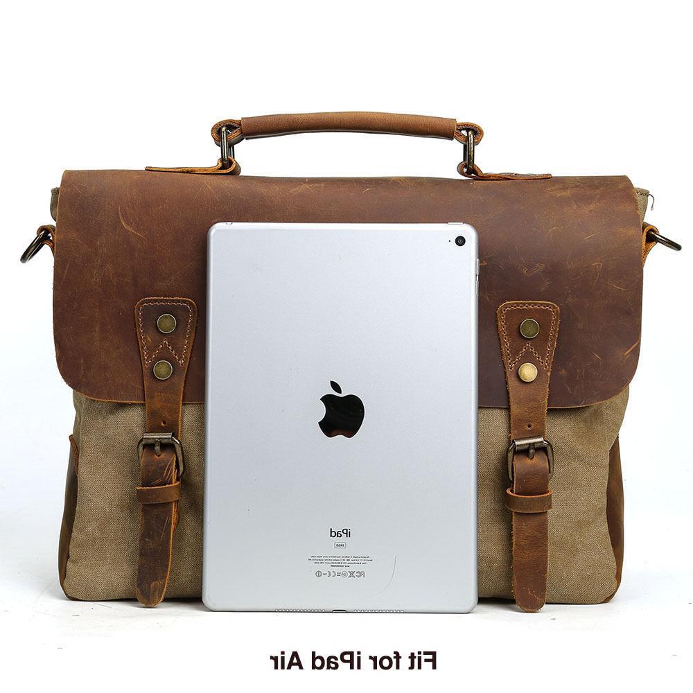 Men's Messenger Shoulder Laptop Crossbody