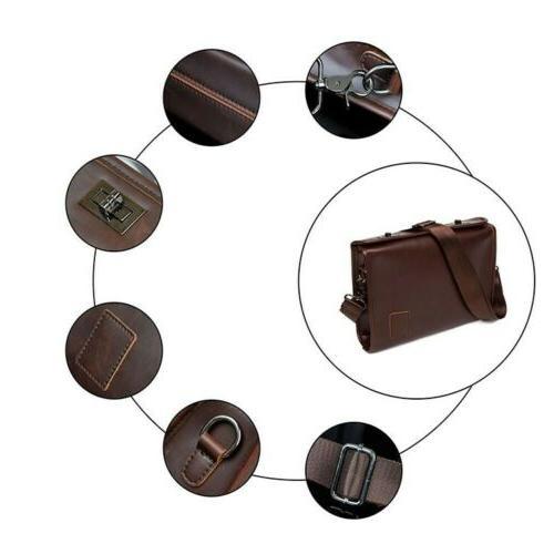 Men's Messenger Shoulder Crossbody Bags Briefcase