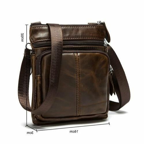 Men's Genuine Leather Small Bag Purse