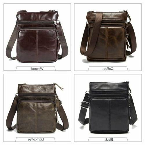 Men's Small Flap Bag Messenger Purse