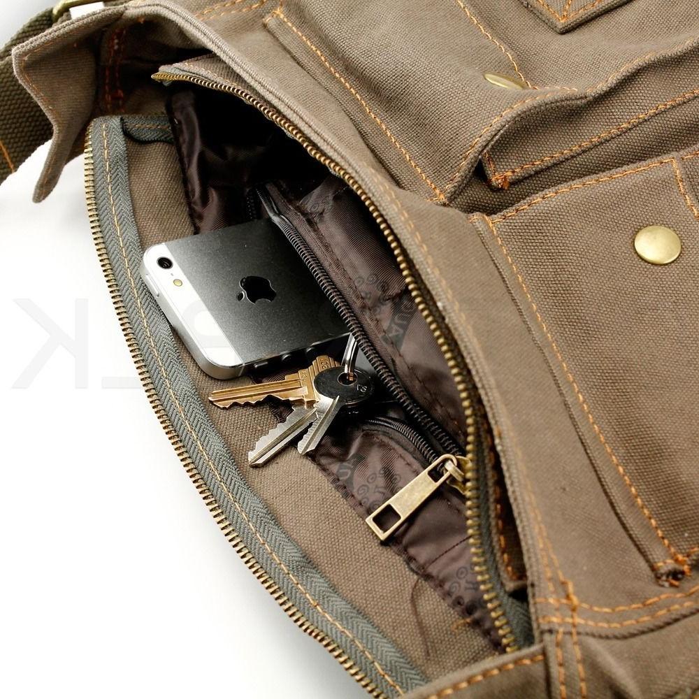 Men's Satchel School Shoulder Bag
