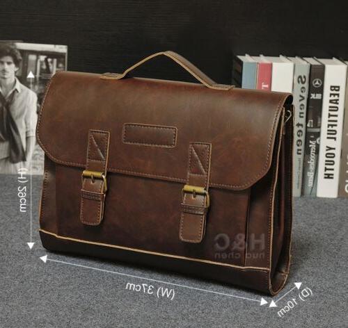 Men's Briefcase Laptop Messenger Bag Business Case