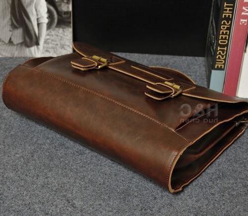 Men's Leather Bag Case