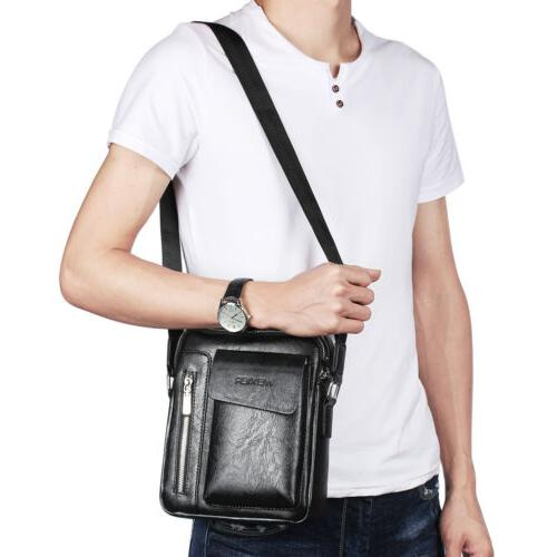 Men's Soft Satchel Tote