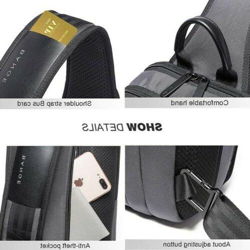 Men's Anti-theft Chest Bag Crossbody Casual