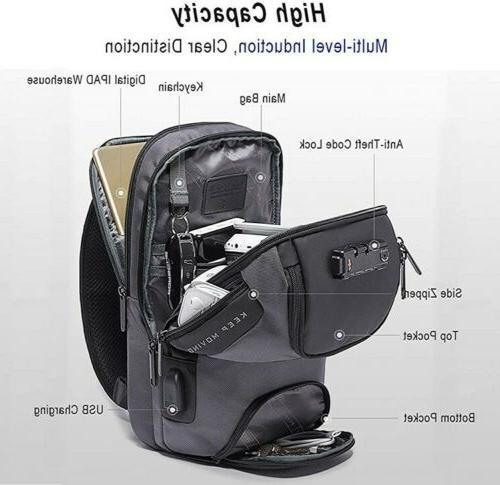 Men's Anti-theft Bag Crossbody Shoulder Casual