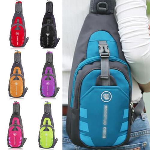mens womens shoulder sling chest pack bag