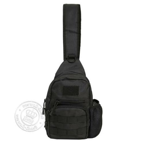 Men Sling Chest Pack Messenger Shoulder
