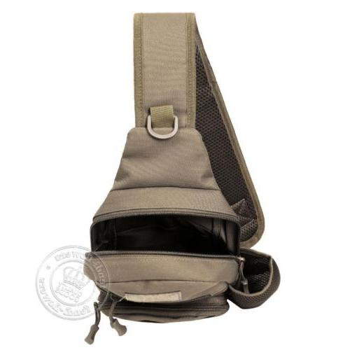 Men Tactical Sling Chest Pack Messenger