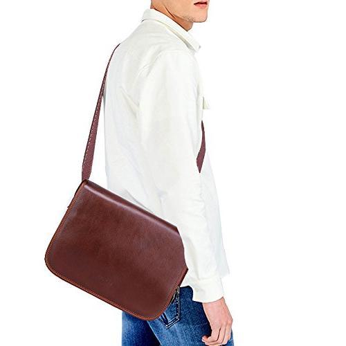 Banuce Italian for Men Briefcase Business a4 Work Bag