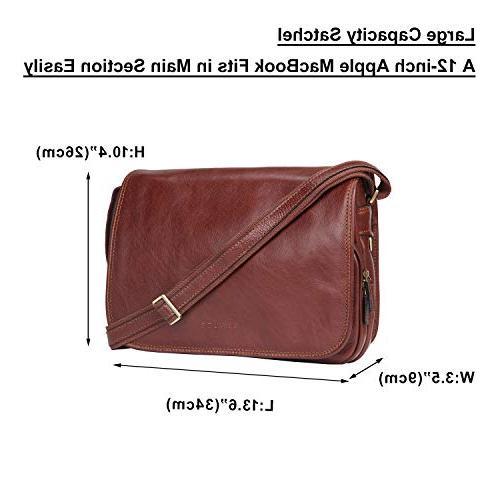 Banuce Vintage Italian for Briefcase Business Work Bag Organizer