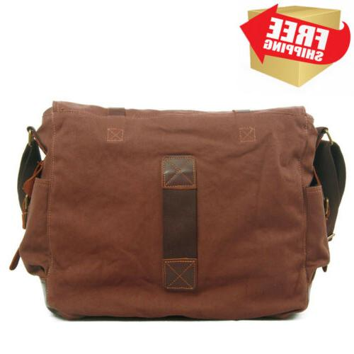 """Berchirly Vintage Military Canvas 17.3"""""""