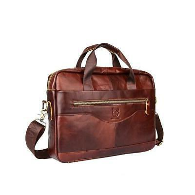 Mens Briefcase Handbag Shoulder Messenger
