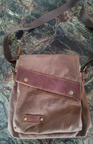 mens canvas messenger bags shoulder bags crossbody