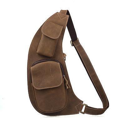 Mens Bag Sling Shoulder Satchel Pack