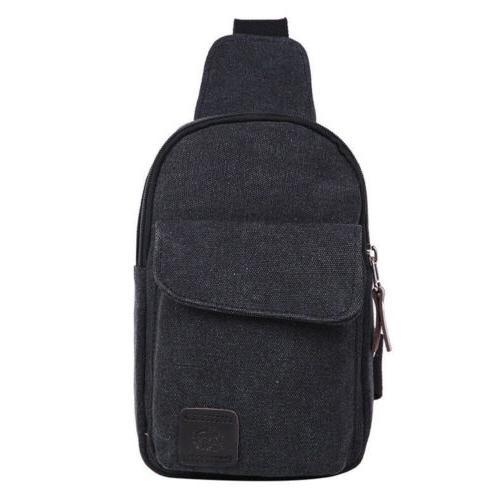 Mens Molle Chest Bag Pack Messenger Shoulder Bag