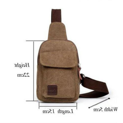 Mens Molle Chest Bag Assault