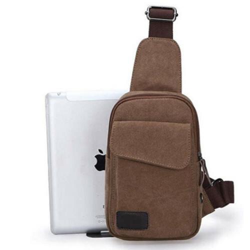 Mens Tactical Sling Chest Bag Messenger Backpack