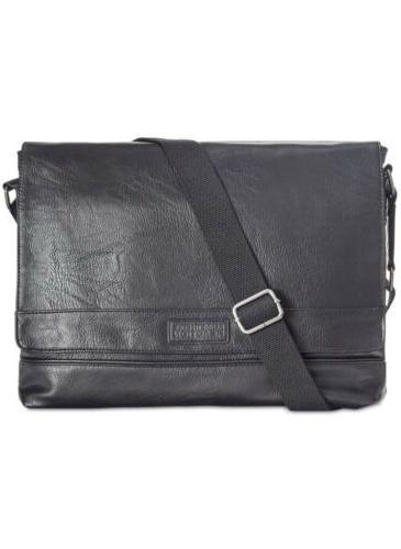 Kenneth Cole Reaction Men's Pebbled Messenger Bag!! New!!!