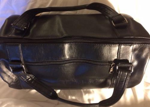 Berchirly Weekender Bag Black Detachable