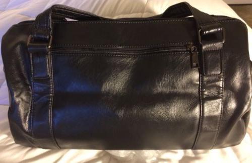 Berchirly Mens Travel Weekender Bag Black Detachable