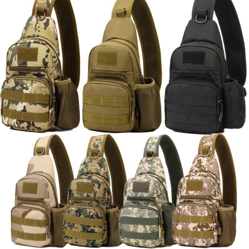 Mens Vintage Bag Sling Military Shoulder Satchel