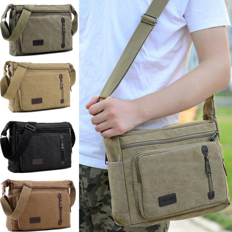 Mens Bag Bag Military