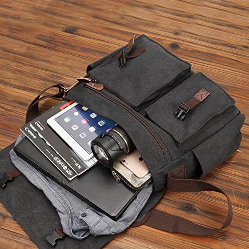 Messenger Bag for Resistant Satchel 17 Business Bookbag RAVUO