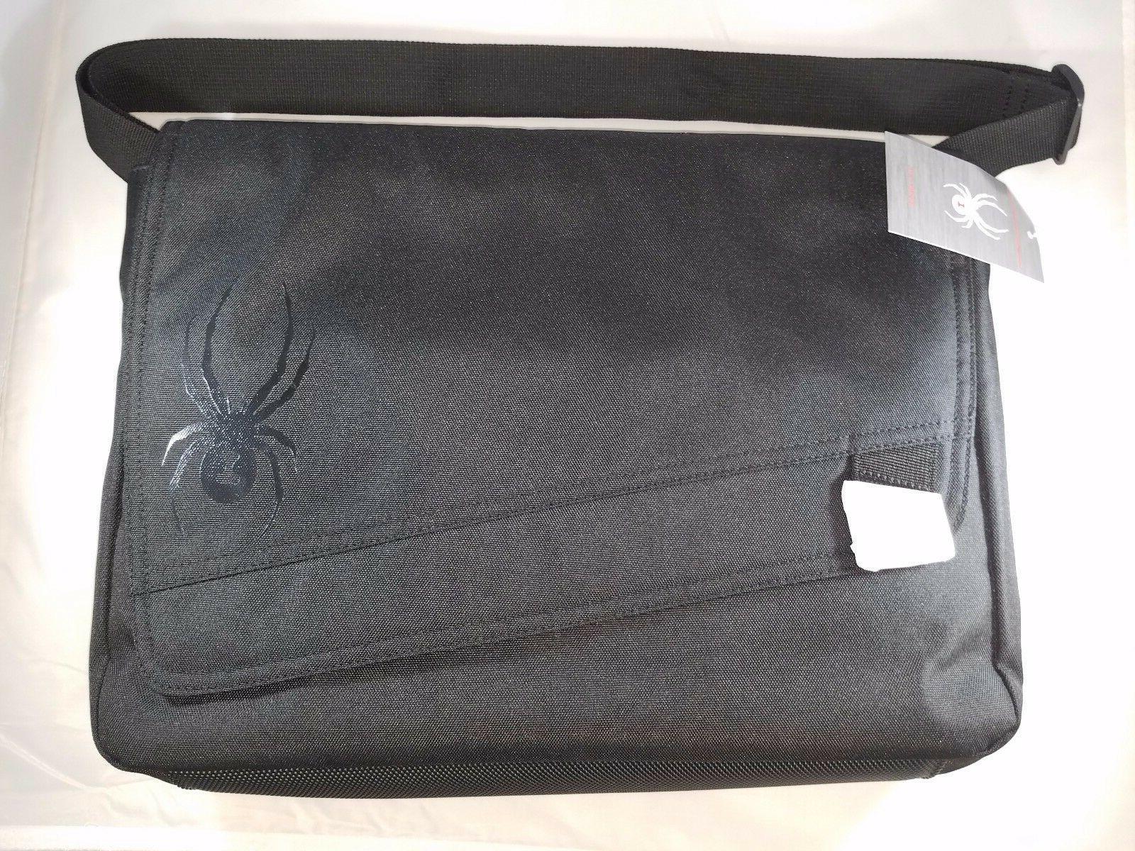 Spyder Messenger Bag Blackout Case Street Wear Accessories T