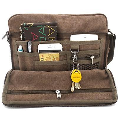 messenger bag for men canvas shoulder women