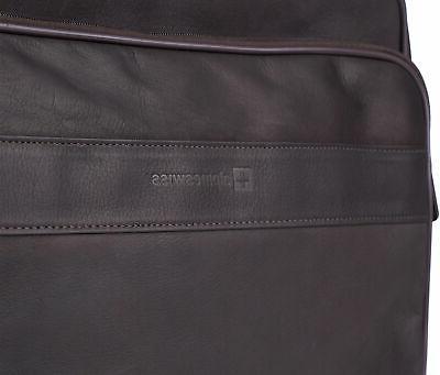 Alpine Messenger Leather Portfolio Business